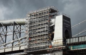 Scaffold for infrastructure projects - HAKI system scaffold