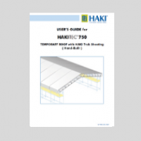 HAKITEC temporary roof brochure